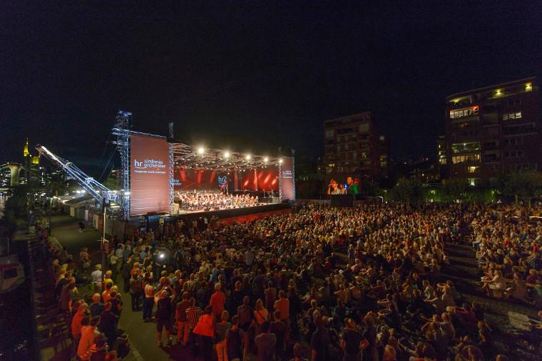Open Air des hr-Sinfonieorchesters 2015. Foto: hr/Ben Knabe Abdruck: honorarfrei