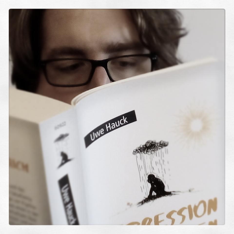 """Das Tabu durchbrechen mit """"#Depression Abzugeben"""" von Uwe @bicyclist Hauck"""