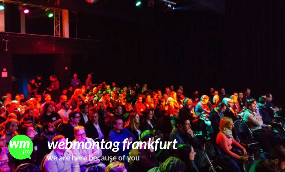 Der Webmontag Frankfurt hat relaunched #wmfra