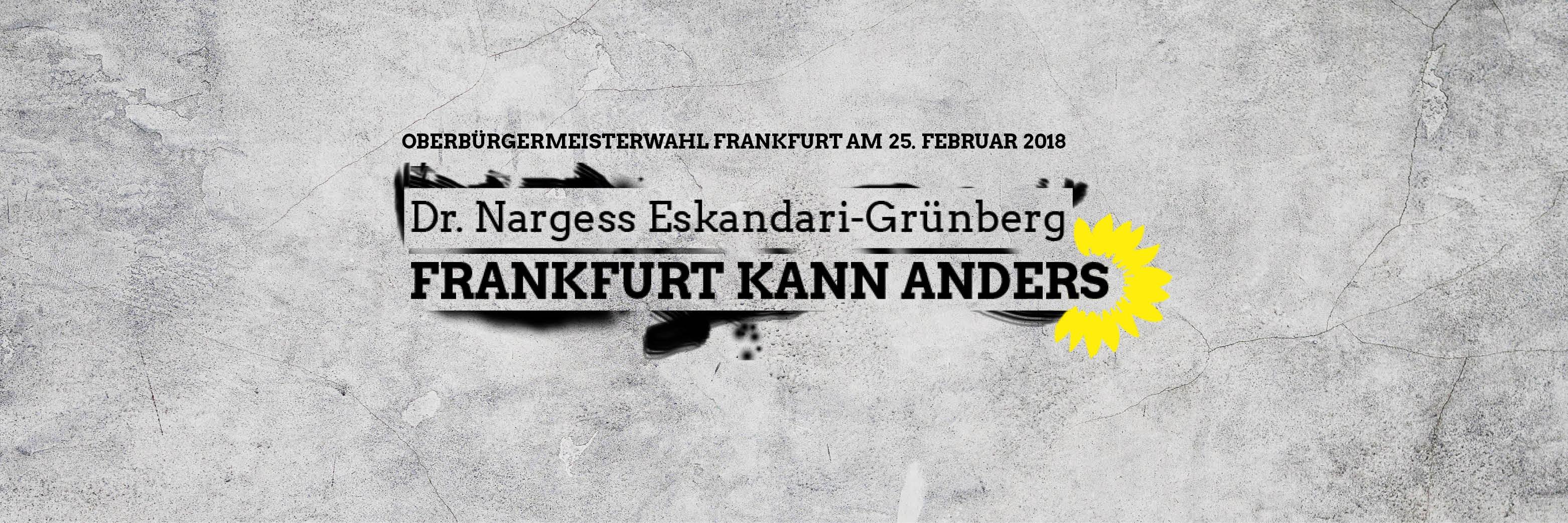 Warum ich Nargess Eskandari-Grünberg als Oberbürgermeister-Kandidatin unterstütze