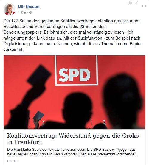 Digitalisierung und der Koalitionsvertrag 2018 von CDU, CSU und SPD – wie oft taucht das Wort auf