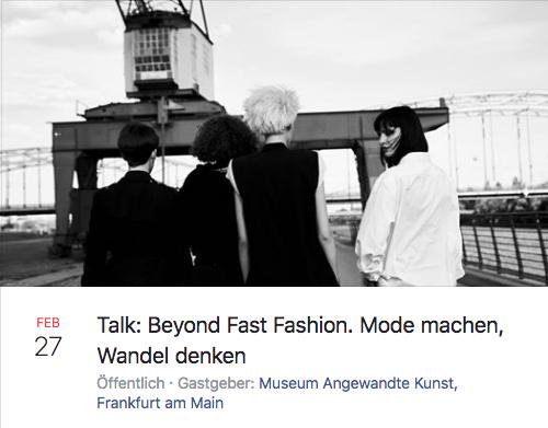 Beyond Fast Fashion aus der Veranstaltungsreihe Blickwechsel Zukunft gestalten