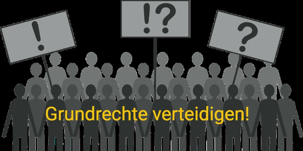 Grundrechte verteidigen! Widerstand gegen den Abbau demokratischer Grundrechte
