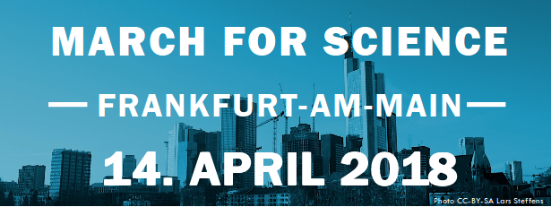 March for Science in Frankfurt
