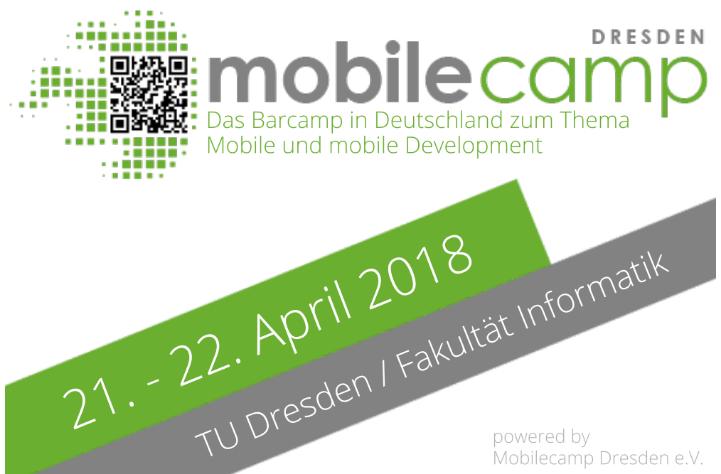Das Mobilecamp in Dresden steht vor der Türe