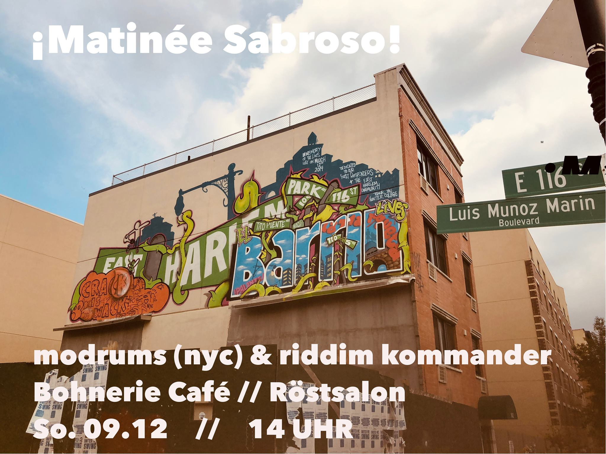 Matinée Sabroso in der Bohnerie (DJ session)