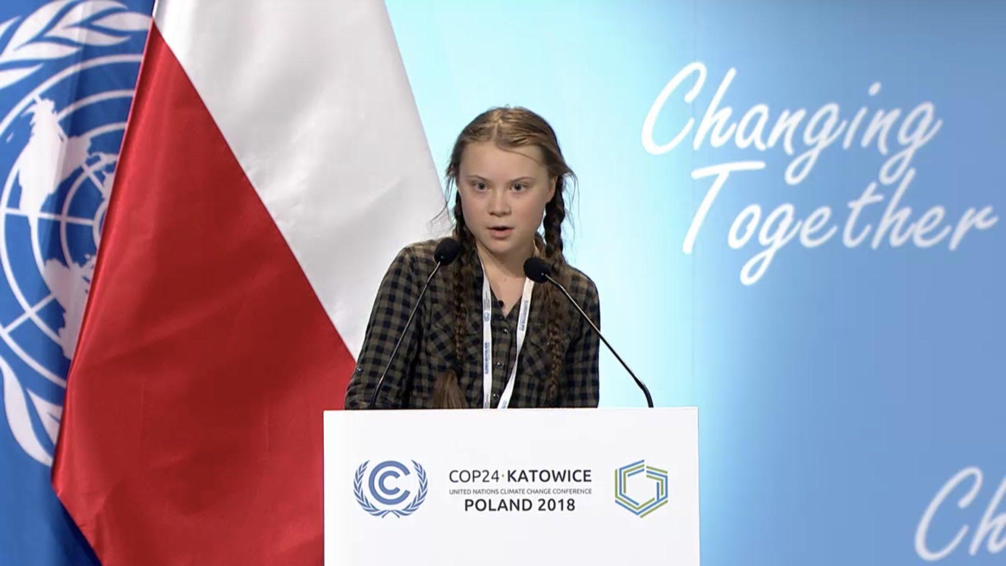 Greta Thungerg, Twitter https://twitter.com/GretaThunberg/status/1073527918616297472